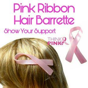 Breast Cancer Awareness Hair Barrette
